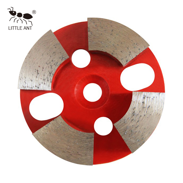 Circular Metal Grinding Plate for Concrete Arc Gear Dry And Wet Use Coarse