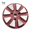 Metal Grinding Plate 8 Gears for Concrete Triangle Gear Dry And Wet Use Coarse