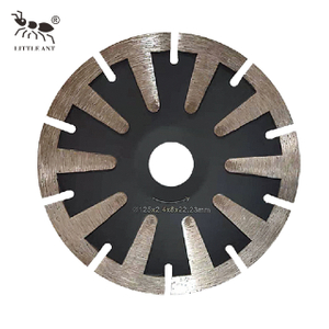 Concave Saw Blade Grooving on Granite Marble Protection Body Teeth