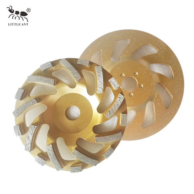 Hollow-carved Design Best Seller Metal Bond Diamond Concrete Grinding Wheel